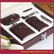 man's card wallet key holder lighter knife leather Business Gifts 2015