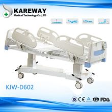 Linak motor ICU electric bed, remote control clinic bed