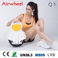 Airwheel Q1 stand up scooter para las damas con ce, un38.3, rohs, MSDS certifiate