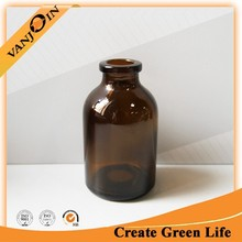 Empty 50ml Amber Pharmaceutical Vials For Injection