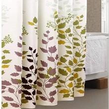 Leaves Design Shower Curtain