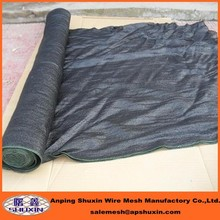 hdpe black sunshade netting in agriculture