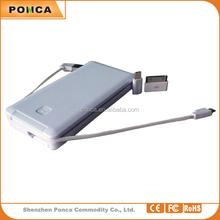 shenzhen manufacturer cheap price Portable mobile power bank,private label 6000mAh power banks