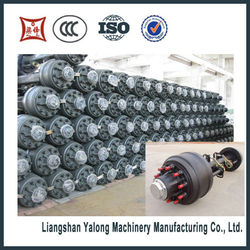 China supplier The best quality Fuawa and BPW Trailer Axle for sale