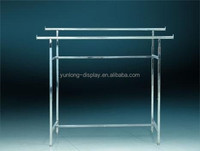 clothing metal display rack,for hanging cloth,for supermarket and shop
