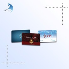 High end store advertisement metro pvc card