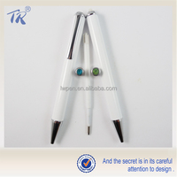 Cheap Wholesale Plastic Parker Refills Metal White Ball Pen