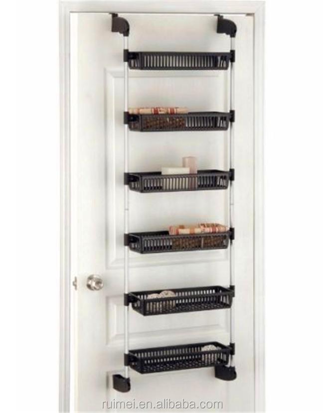 Storage Rack Over Door Hanging Organizer Home Pantry Shelf Kitchen ...