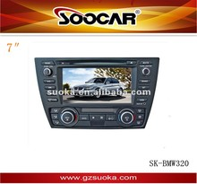 Wince 6.0 car stereo DVD player for BMW 320 with GPS navigation radio dvd bluetooth tv IPOD Iphone USB