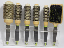 Have stock hot sale hair salon equipment ceramic hair brush hard boar bristle wholesale hair brush manufacturer