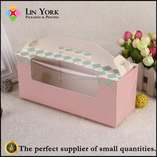High Quality Recyclable Custom Foldable Mini Paper Cupcake Boxes