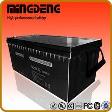 MINGDENG 200ah 12 volt lead acid battery operation