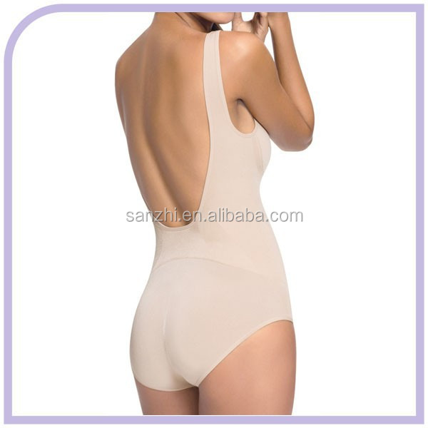 The Backless Body Shaper With Bottom By Fullness Shapewear Is Wonderful As An Everyday Option Or Even When You Have Something More Formal That Needs