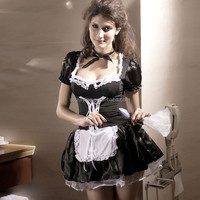 Hot Selling Japanese Sexy Maid Costume Female Costume Halloween Costume