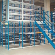 supplier for COSTCO for 5 years, pallet rack supported steel mezzanine floor