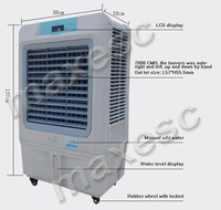 7000cmh room use indoor movable celsius air cooler