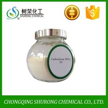 Carbofuran 98% TC, 3%GR agrochemical product, cas no:1563-66-2