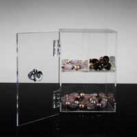 Clear Jewelry Case With Cover,