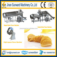 On Hot Sale Potato Chips Flavoring Machine With CE