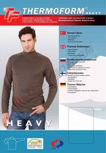 Thermal Heavy Men Underwear Turtle neck