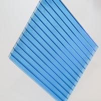 High Quality 10-year Warranty 12mm twin wall polycarbonate sheet recycled polycarbonate sheet polycarbonate sunlight sheet
