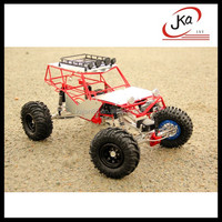 JKA 1/10 scale Axial Wraith Spawn Rock Crawler 4wd RC Monster Truck Bigfoot Truck