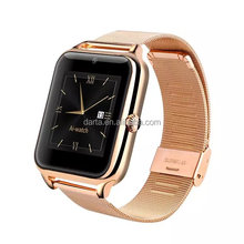 2015 new smart bluetooth watch with promotion gift(2200mmAh cigarette lighter power bank)