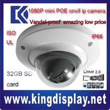 dahua MINI 2 MEGA PIXEL POE security IP camera IPC-HDB3200C 1080P ONVIF2.0 google system android IPHONE USE