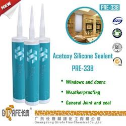 300 ml silver silicone caulk Acetoxy Silicone Sealant