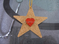 Christmas tree decorative plastic christmas star