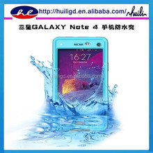 2015 New arrival redpepper waterproof case for samsung galaxy note 4