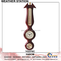 Wooden Weather Station Barometer Decor YG375C