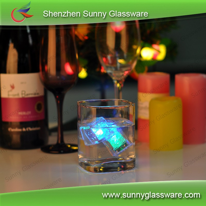 high quality whiskey glass,glass tumbler,square wine glass