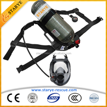 CE/EN SCBA Air Breathing Apparatus with Carbon Fiber Air Cylinder