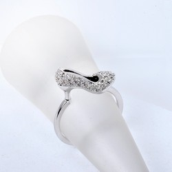 The Latest Fashion Design White Gold Plated Sexy Women Ring