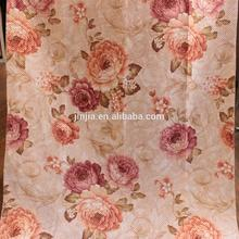M2321 window ceiling drapery fabric jacquard curtain golden fabric from shaoxing manufacture china textile