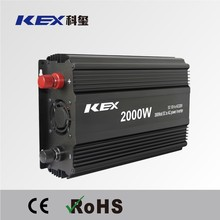 High conversion efficiency home use small power inverter 2000w dc 12v ac 220vpower inverter with CE ROHS KEX-32000