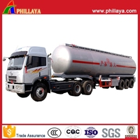gasoline petroleum diesel fuel tank trailer, crude oil tank trailers for sale