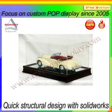 Clear Acrylic Model Car Display Cabinets