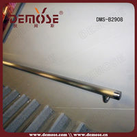 brass stair handrails and handicap stair rails