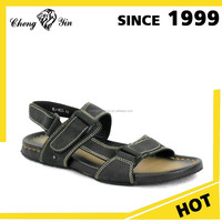 china wholesale alibaba Latest Design Genuine Leather Upper Happy Feet Sandals shoes for men made in china
