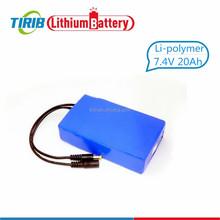 Long Life Span Power Bank 12v 20000mah Lithium Polymer Battery Pack