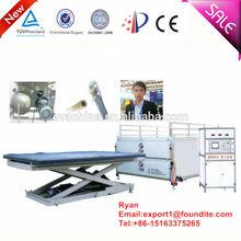Ce aprovado autoclave livre eva/pvb de têmpera vidro estratificação equipamentos/máquina