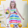 2015 wholesale cotton child dress, polka dots lovely summer children dress