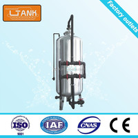 Stainless Steel Activated Carbon Filter Mechanical Filter For Water Treatment