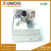 Newest Electronic Cigarette China Design Indulgence Mutation X V4 Vaporizer Pen Vape Liquid Flavors in Stock
