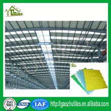 Frp tôle de toiture / clear sheet toiture / transparent tuile