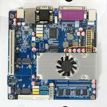 onboard ram industrial fanless x86 motherboard intel D525 board with onboard cpu,onboard power amplifier,Ethernet NIC SBC board