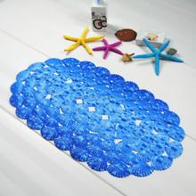 Pattern print bathroom mat shower room anti-slip mat tub sink mat