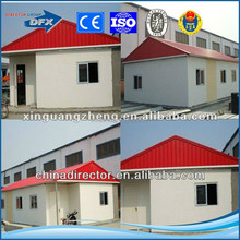 high quality low cost q235/345 prefabricated steel structure house and steel house for construction